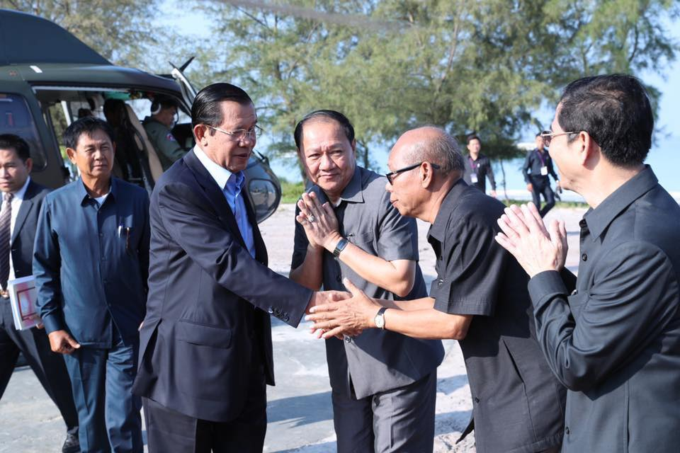 inauguration The Royal Sand Koh Rong2